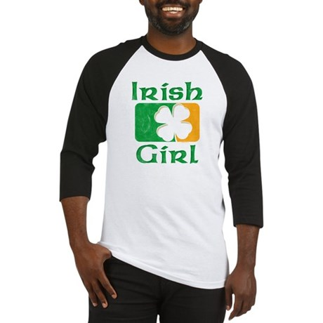 Irish Girl Baseball Jersey