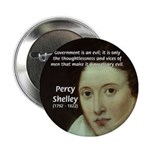 Romantic Writer: Percy Shelley Button