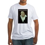 Romantic Writer: Percy Shelley Fitted T-Shirt