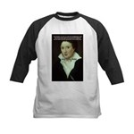 Romantic Writer: Percy Shelley Kids Baseball Jerse