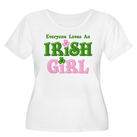 Loves An Irish Girl Women's Plus Size Scoop Neck T