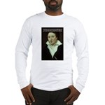 Romantic Writer: Percy Shelley Long Sleeve T-Shirt