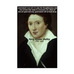 Romantic Writer: Percy Shelley Mini Poster Print