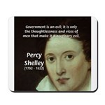Romantic Writer: Percy Shelley Mousepad
