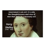 Romantic Writer: Percy Shelley Postcards (Package