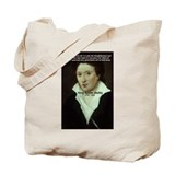 Romantic Writer: Percy Shelley Tote Bag