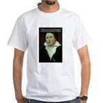 Romantic Writer: Percy Shelley White T-Shirt