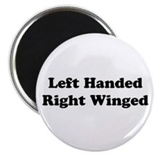 "Left Handed 2.25"" Magnet (100 pack)"