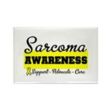 Sarcoma Awareness Rectangle Magnet (10 pack)