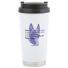 Intense--Belgian Malinois Ceramic Travel Mug