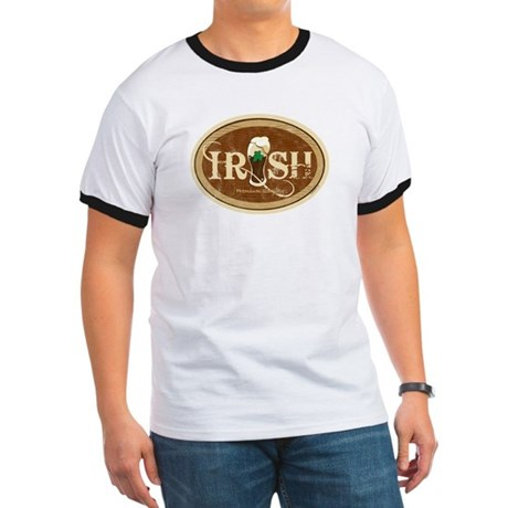 Stout Irish Beer Ringer T