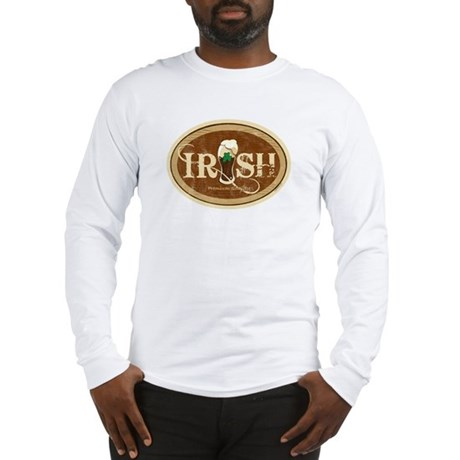 Stout Irish Beer Long Sleeve T-Shirt