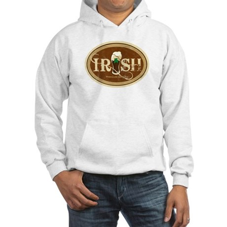 Stout Irish Beer Hooded Sweatshirt