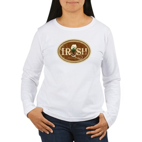 Stout Irish Beer Women's Long Sleeve T-Shirt