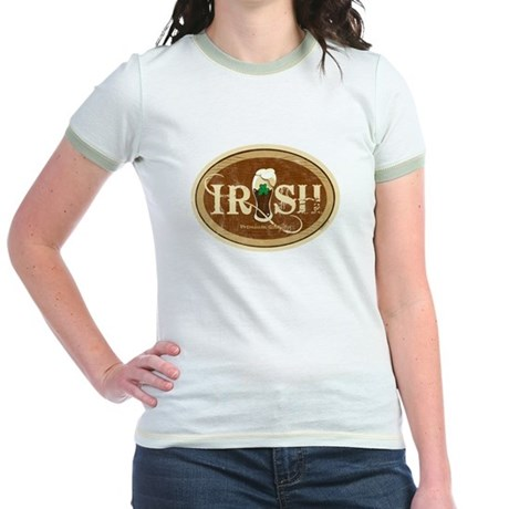 Stout Irish Beer Jr. Ringer T-Shirt