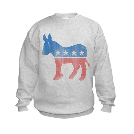 Democratic Donkey Kids Sweatshirt