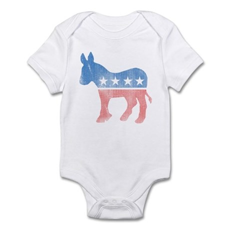 Democratic Donkey Infant Bodysuit