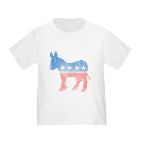 Democratic Donkey Toddler T-Shirt