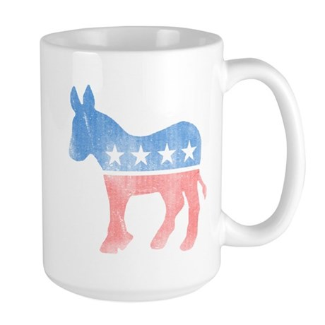 Democratic Donkey Large Mug