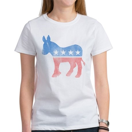 Democratic Donkey Womens T-Shirt