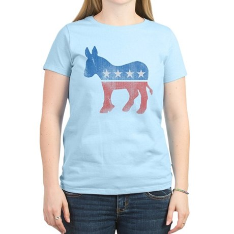 Democratic Donkey Womens Light T-Shirt