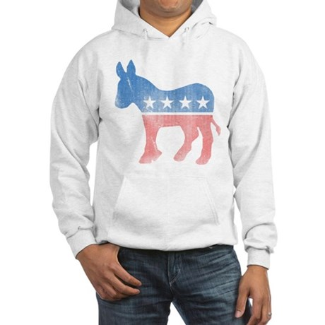 Democratic Donkey Hooded Sweatshirt