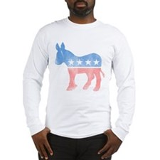 Democratic Donkey Long Sleeve T-Shirt