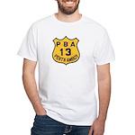 Perth Amboy PBA White T-Shirt