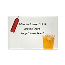 Ruby's Fries Rectangle Magnet (10 pack)