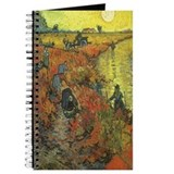 Van Gogh Red Vineyard Journal