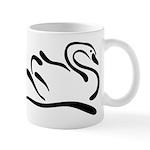 Stylized Swan Mug