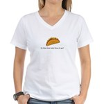 Taco Women's V-Neck T-Shirt