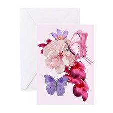Exotic Mix Floral Greeting Cards (Pk of 10)
