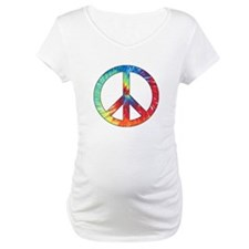 Tie Dye Rainbow Peace Sign Shirt