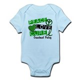 PEACE LOVE CURE Cerebral Palsy (L1) Onesie