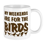 Weekends for the Birds Mug