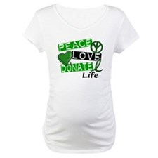 PEACE LOVE DONATE LIFE (L1) Shirt