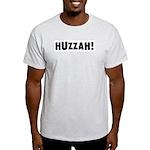 Huzzah: Ash Grey T-Shirt
