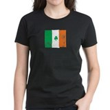 Irish Vintage Flag - Womens Tee