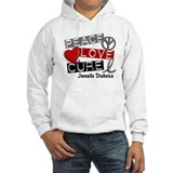 PEACE LOVE CURE Juv Diabetes (L1) Jumper Hoody