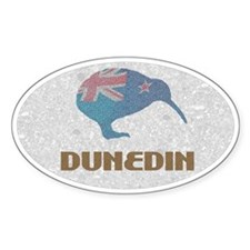 Dunedin New Zealand Oval Decal