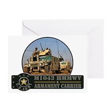 Humvee HMMWV Greeting Card