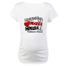 PEACE LOVE CURE Parkinsons (L1) Shirt