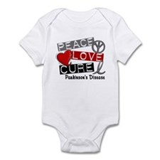 PEACE LOVE CURE Parkinsons (L1) Infant Bodysuit