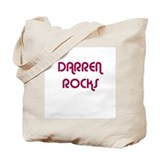 DARREN ROCKS Tote Bag