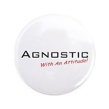 "Agnostic / Attitude 3.5"" Button (100 pack)"