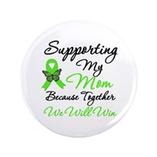 "Lymphoma Support (Mom) 3.5"" Button"