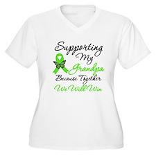 Lymphoma Support (Grandpa) T-Shirt