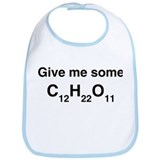 Chemistry Give Me Sugar Bib