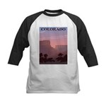 Colorado Sunset Kids Baseball Jersey